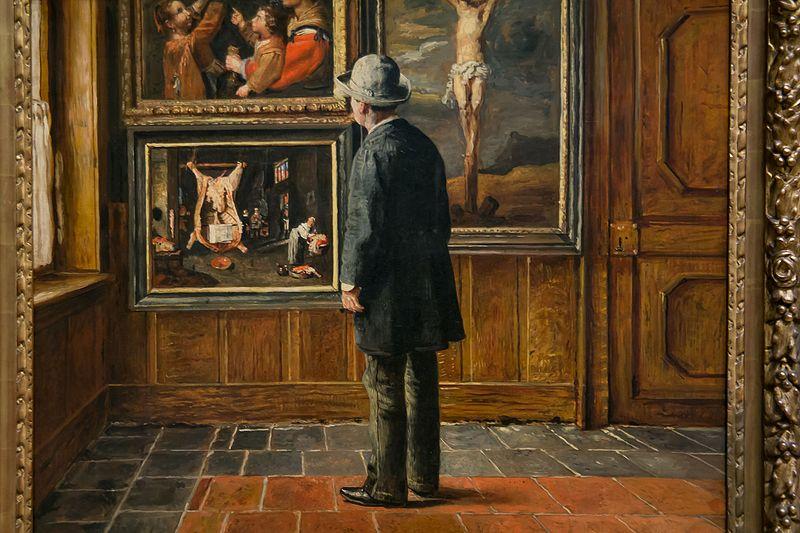 File:'The Picture Lover' by Henri de Braekeleer.jpg