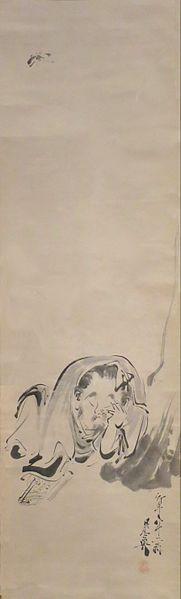 File:'Zhuangzi Dreaming of a Butterfly' by Shibata Zeshin, 1888, Honolulu Museum of Art, 13879.1.JPG