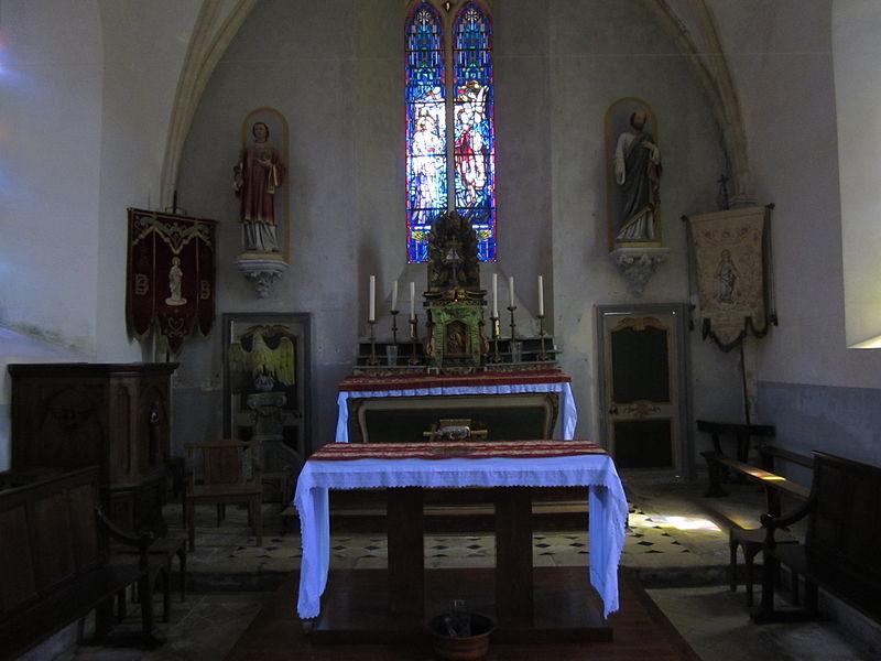 église Saint-Barthélemy d'Hardinvast, Manche