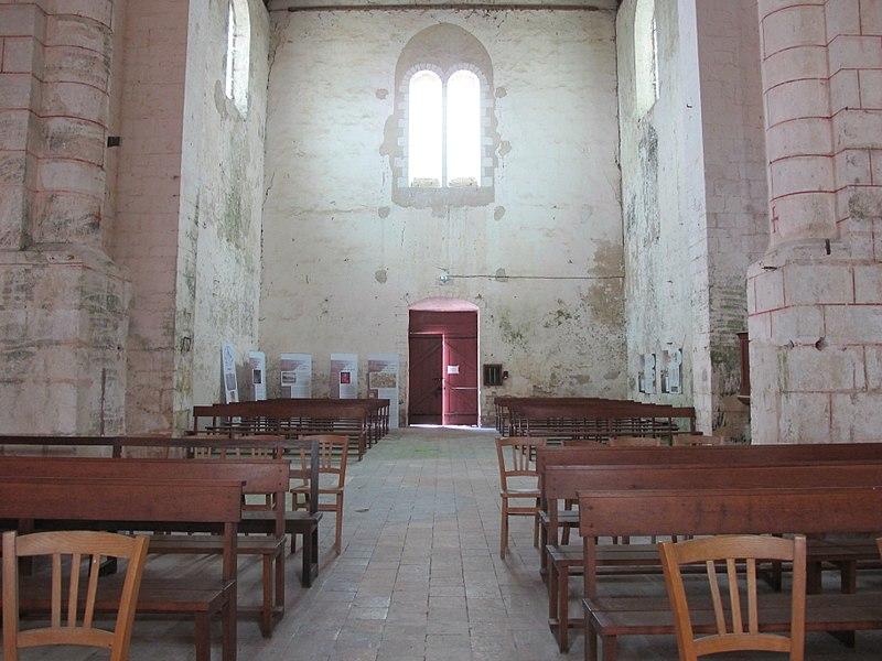 Église de Meobecq, France - 2