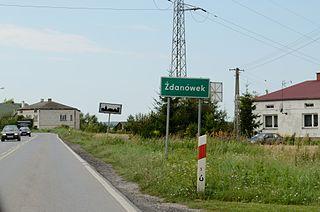Żdanówek Village in Lublin, Poland