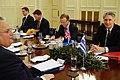 Συνάντηση ΥΠΕΞ Ν. Κοτζιά με ΥΠΕΞ Ηνωμένου Βασιλείου Philip Hammond (14.01.16) (24345491996).jpg