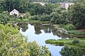 Екабпилс (Латвия) Озерцо возле замка - panoramio.jpg