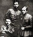 Затонський Коцюбинський Бубнов 1918.jpg
