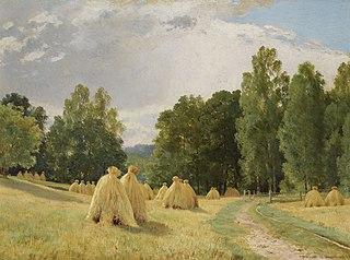 Haystacks. Preobrazhenskoe