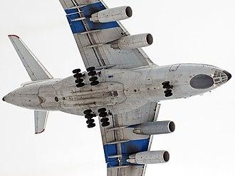 Ilyushin Il-76 - Landing gear of Ilushin Il-76