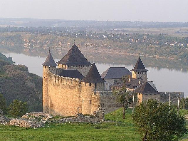 3rd place: Khotyn Fortress, Chernivtsi Oblast, by Denis Vitchenko