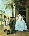 Корнеліс Трост Сцена з вистави Притворний сум до 1740 р.jpg