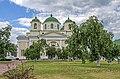 Новгород-Сіверський. Спасо-Преображенський монастир. Монастирський сад.JPG