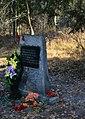 Памятное место, где 4 мая 1942 года партизаны разгромили гитлеровский отряд карателей.jpg