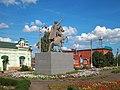 Пугачёв Памятник В. И. Чапаеву 16 августа 2017 02.jpg