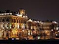 Санкт-Петербург. Зимний дворец. Ночная подсветка западного фасада.jpg