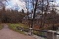 Сергиевка осенью. Английский домик, вид с мостика..jpg