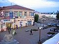 Улица Ленина с верхнего кафе кинотеатра Эрдэм (вид на площадь). 07.2009 - panoramio.jpg