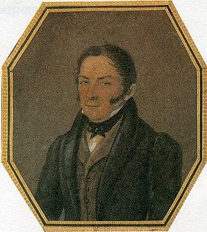 Joseph Bové - Image: Фотофрагмент репродукции портрета Осипа Ивановича Бове ( XIX век)