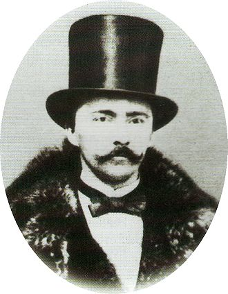 Heinrich Schliemann - Schliemann as a young man