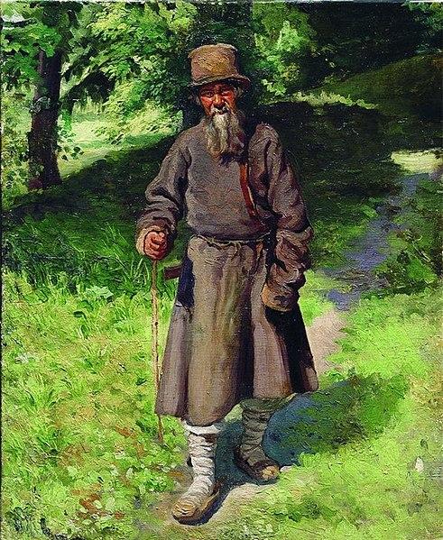 File:Ярошенко Крестьянин-в-лесу 1880.jpg