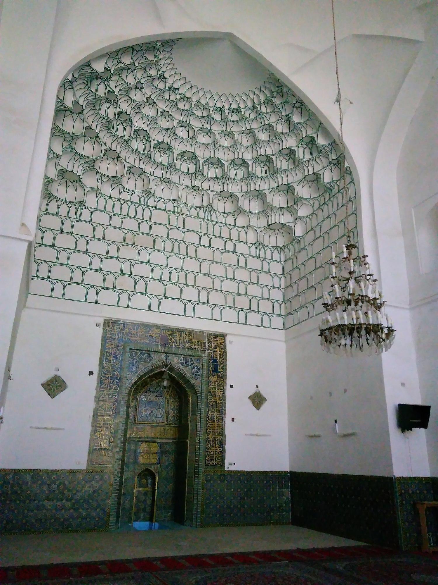مسجد جامع کاشمر