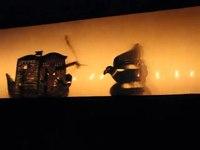 File:തോൽപ്പാവക്കൂത്ത് Playing Tholpava koothu, shadow puppet 2.webm