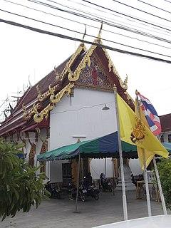 Wat Phet Samut Worawihan Buddhist temple in Thailand