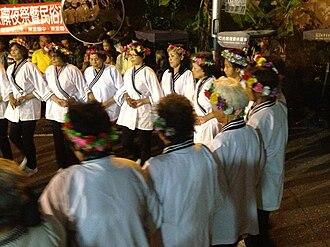 Taivoan people - Image: 大庄部落大武壠族夜祭