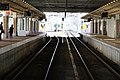 新庄駅構内 Shinjo Station Plattform - panoramio.jpg