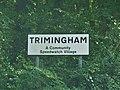-2019-08-21 Place name sign, Trimingham, Norfolk.JPG