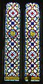 -2020-12-04 South facing stained glass window, Saint John the Baptist head, Church Street, Trimingham.JPG