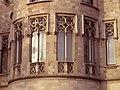 007 Casa Pascual i Pons, pg. de Gràcia - rda. de Sant Pere (Barcelona), detall de la torre.jpg