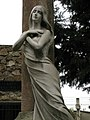 017 Tomba d'Antonio Leal da Rosa, escultura d'Enric Clarasó.jpg