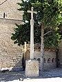 043 Creu de terme, pl. Església (Vallfogona de Riucorb).jpg