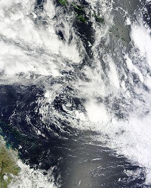 2014–15 Australian region cyclone season - Image: 07U Jan 12 2015