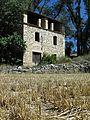 086 Molí del Ferrer (Vallfogona de Riucorb), angle sud-oest.jpg