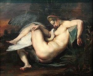 Leda and the Swan (Peter Paul Rubens) - Leda and the Swan by Peter Paul Rubens