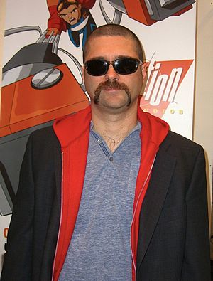 Joe Casey - Casey at the 2012 New York Comic Con.