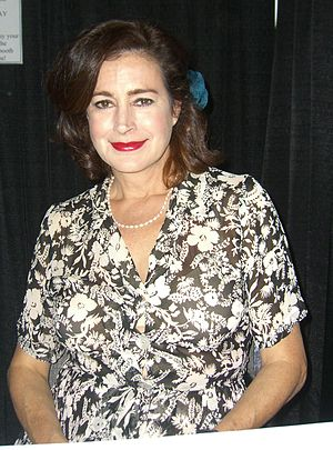 The Young and the Restless characters (2010) - Sean Young (pictured) played the scheming con-artist, Meggie.