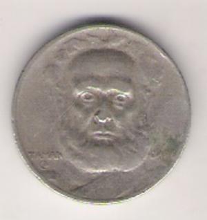 Joaquim Marques Lisboa, Marquis of Tamandaré - Image: 100 Réis de 1936 (verso)