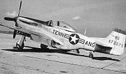105th Fighter Squadron - North American F-51D-25-NA Mustang 44-73075