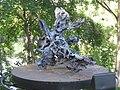 1090 Rossauer Lände - Summerstage - Wasserskulptur IV von Karl Karner 2016 IMG 2240.jpg