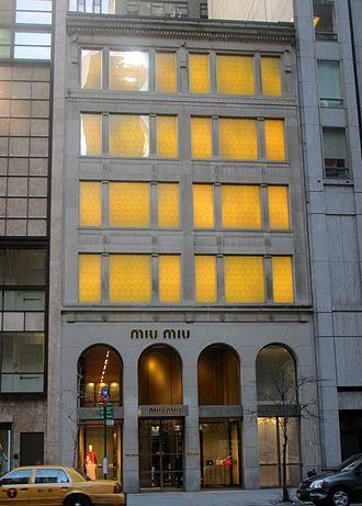 Miu Miu - Miu Miu store in New York City.