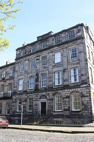 John Hill Burton - Burton's house at 12 Fettes Row, Edinburgh