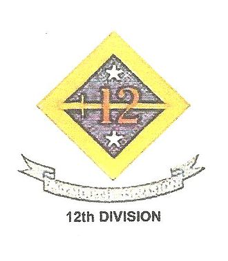 Division insignia of the United States Army - Image: 12th US Army division Insignia