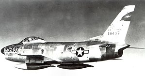 4708th Air Defense Wing - F-86D of the 4708th Air Defense Wing's 13th FIS