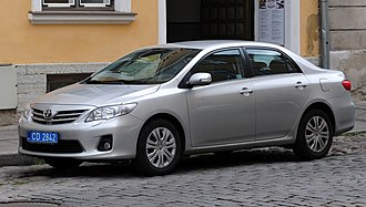 Toyota Corolla (E140) - Toyota Corolla (E140/E150, international version)