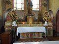 147 La Rochemillay Eglise paroissiale Saint-Pierre Le maître-autel.JPG