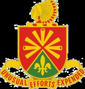 158th Field Artillery Regiment - Image: 158th FADUI