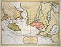 1754 De Fonte Map of the Northwest Passage (America - Asia - Polar) - Geographicus - DeFonte-1754.jpg