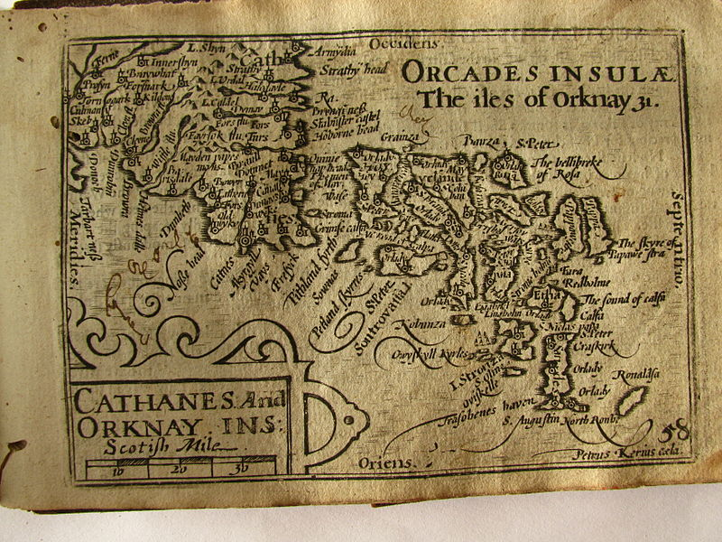 File:17th Century map of the Orkney Islands.JPG