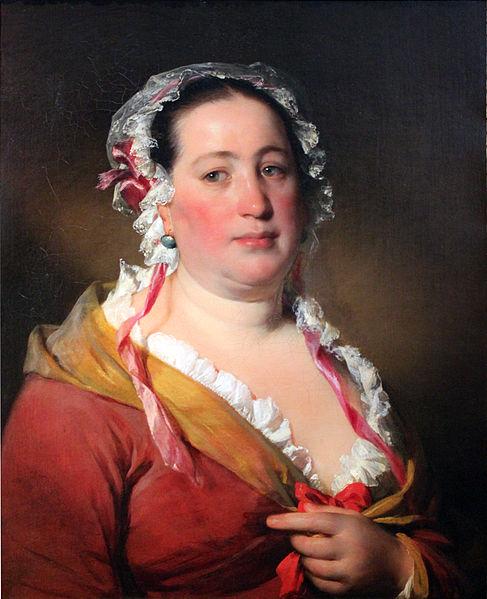 Datei:1850 Amerling Bildnis Frau Plach anagoria.JPG