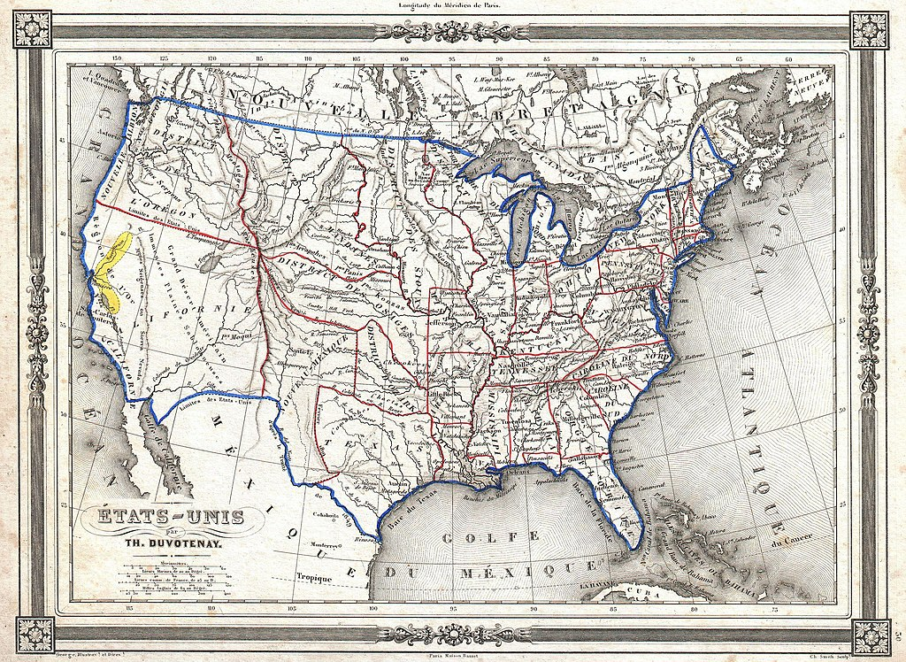 1852 in the United States